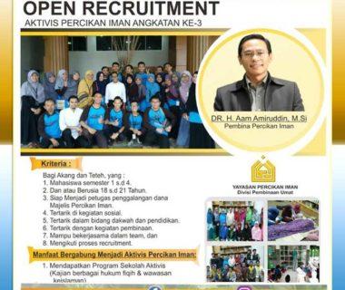 open-rekrutmen