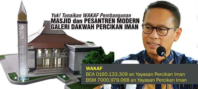 wakaf-pondok-pesantren-masjid-percikan-iman
