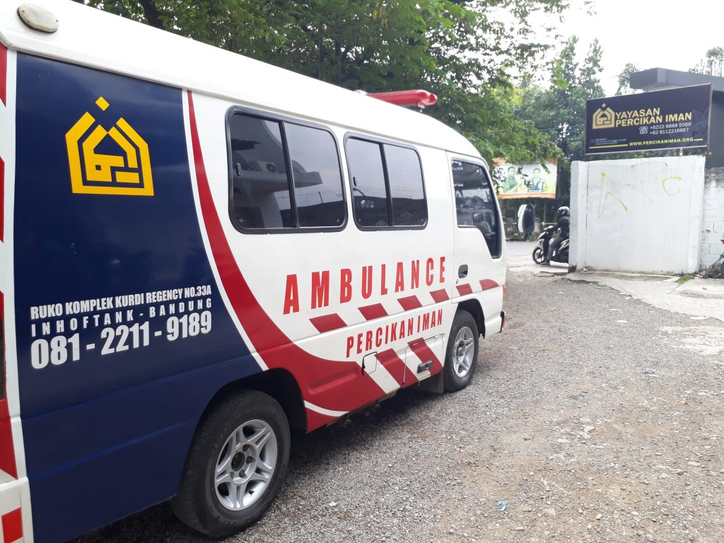 Ambulan Percikan Iman TPK