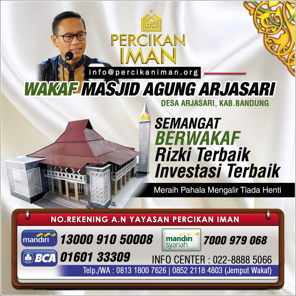 artikel-wakaf-masjid-agung-arjasari-percikan-iman