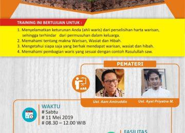 Kajian Ilmu Waris Percikan Iman Aam Amiruddin