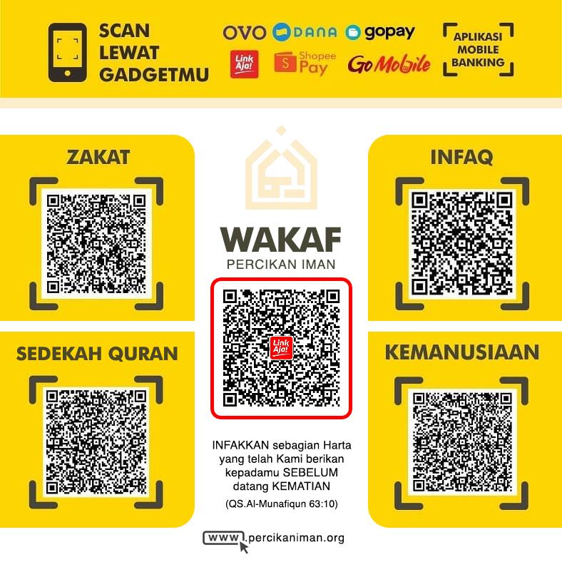 Donasi Dompet Digital Percikan Iman