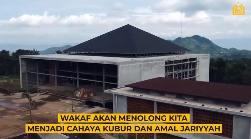 Wakaf Masjid Percikan Iman 2021