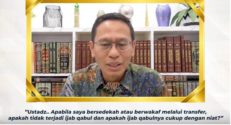 sedekah online sah atau tidak percikan iman aam amiruddin