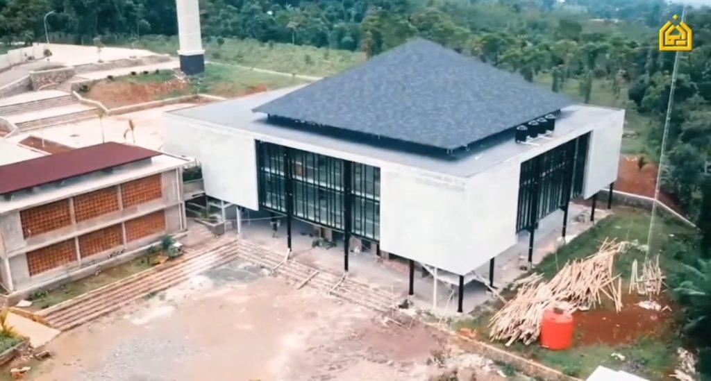 progress masjid juli 2021