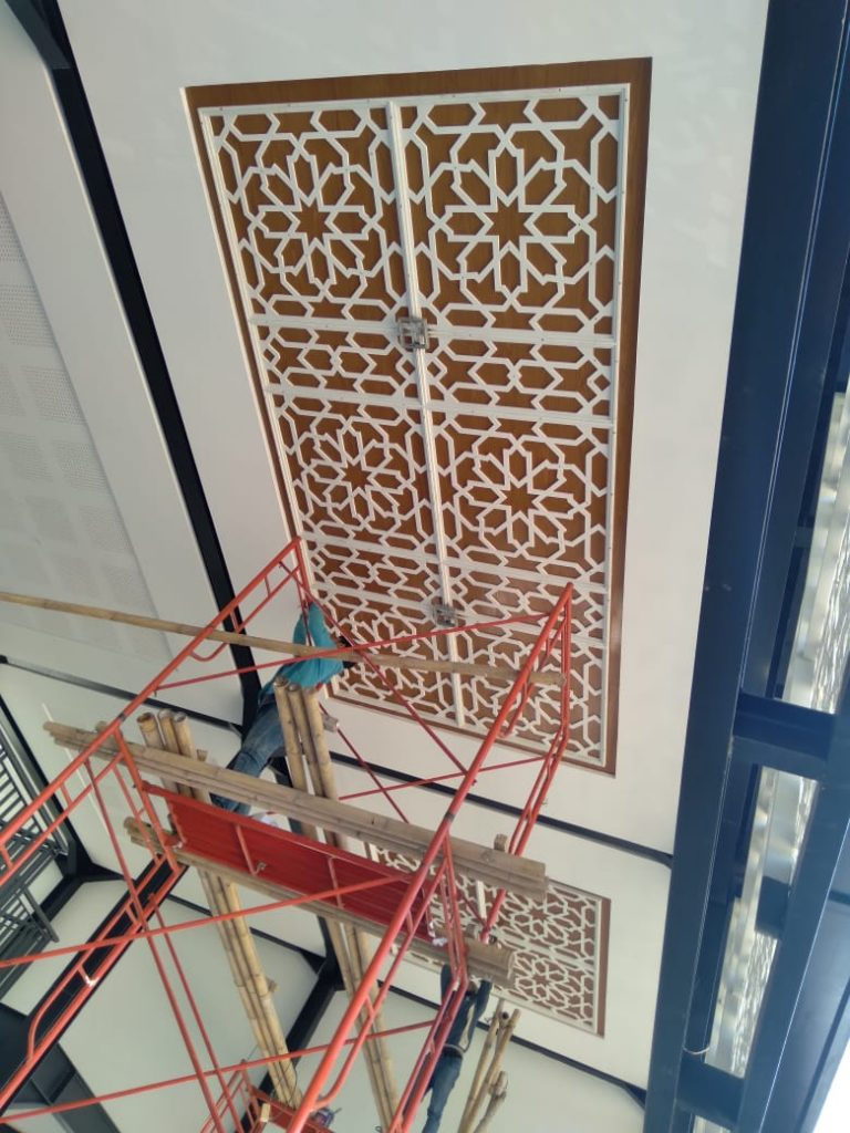 Pembangunan Masjid Percikan Iman (04.09.2021)